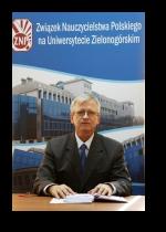dr inż. Krzysztof Łasiński – prezes ZNP w UZ